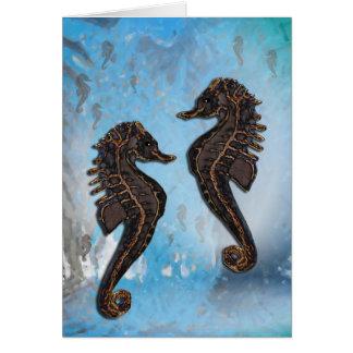 Seepferdchen Card