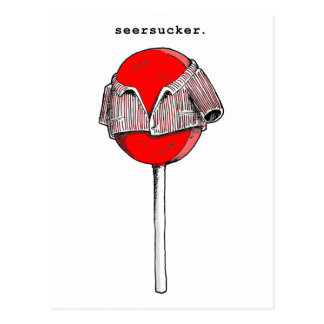 seersucker postcard