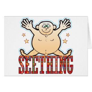 Seething Fat Man Card