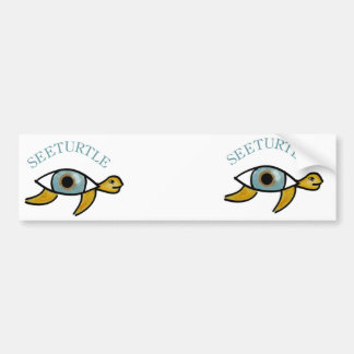 SeeTurtle bumper sticker