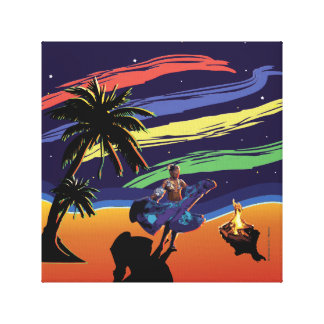 Sega Dancer Canvas Print