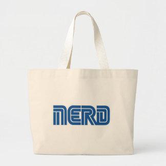 sega nerd large tote bag