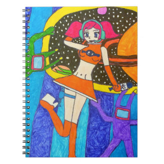 SEGA Space Channel 5 Notebook