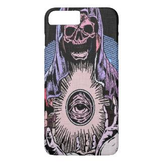 Segador clásico de la muerte del cráneo de Skully Funda iPhone 7 Plus