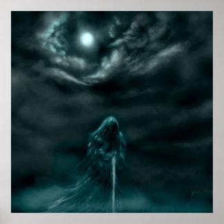 Segador de la luna póster