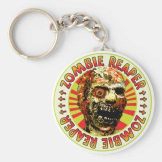 Segador del zombi llavero personalizado