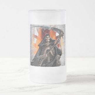 Segador - vidrio esmerilado Stein Taza De Cristal