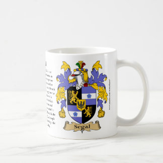 Segal, the Origin, the Meaning and the Crest Coffee Mug