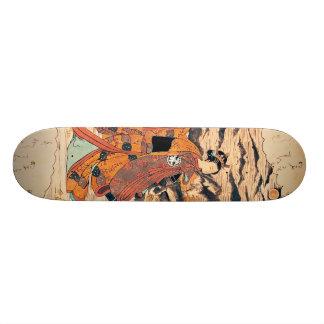 Segawa Kikunjojo Custom Skate Board