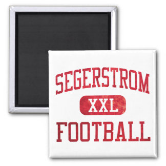 Segerstrom Jaguars Football Magnet