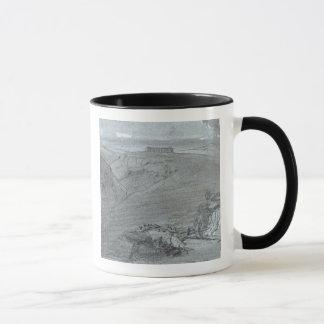 Segesta, from 'Views of Sicily' (chalk & gouache o Mug