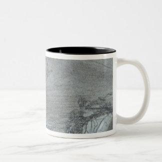 Segesta, from 'Views of Sicily' (chalk & gouache o Two-Tone Coffee Mug