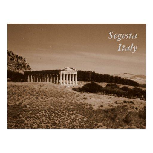 Segesta Postcard