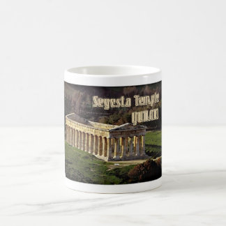 Segesta Temple Classic White Coffee Mug
