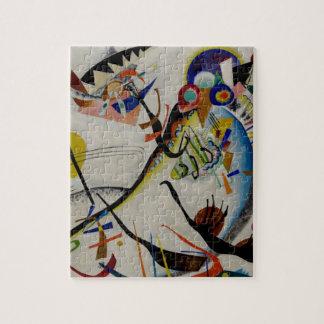Segmento del azul de Kandinsky Rompecabeza Con Fotos