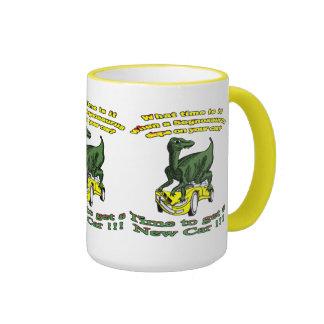 Segnosaurus Car Wreck Mug