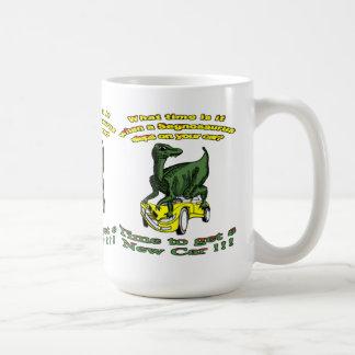 Segnosaurus Car Wreck Coffee Mugs