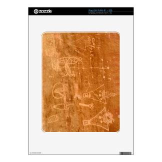 Sego Canyon Petroglyphs - Thompson Springs - Utah Decal For The iPad