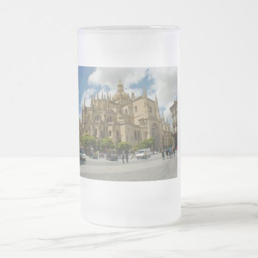 Segovia Catedral-España Taza Cristal Mate