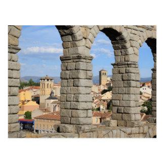 Segovia, España es un sitio del patrimonio mundial Tarjetas Postales