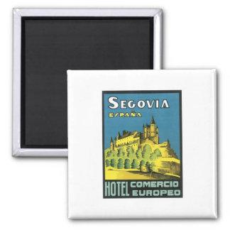 Segovia Espana Hotel Magnet