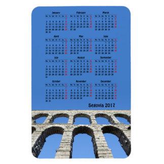 Segovia, Spain 2017 calendar Magnet
