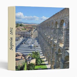 Segovia, Spain 3 Ring Binder