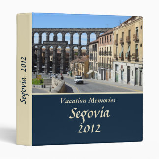 Segovia, Spain Binder