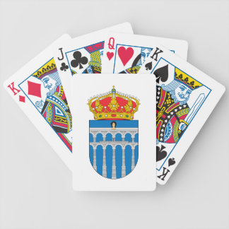Segovia (Spain) Coat of Arms Bicycle Poker Cards