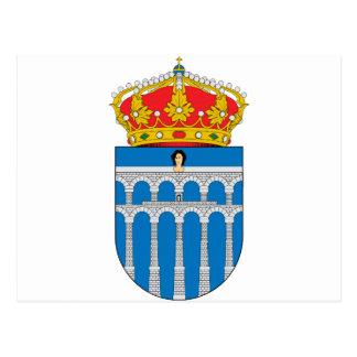 Segovia (Spain) Coat of Arms Postcard