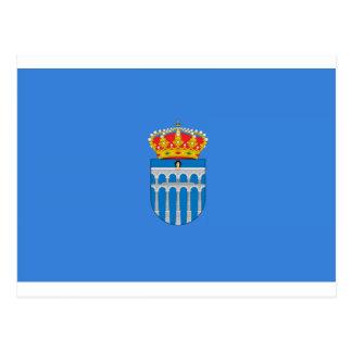 Segovia (Spain) Flag Post Card