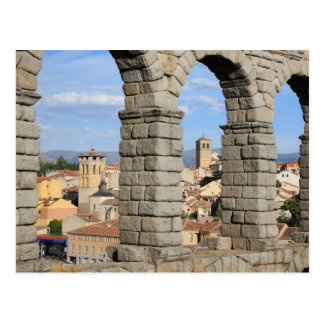 Segovia, Spain is a UNESCO world heritage site Postcard