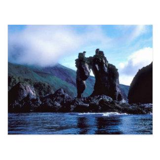 Seguam Island, S.E. side, Seahorse Rock Postcard