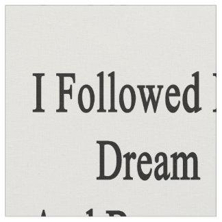 Seguí mi sueño e hice trombón telas