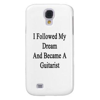 Seguí mi sueño e hice un guitarrista funda para galaxy s4