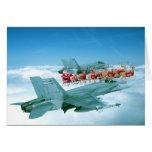 Seguimiento de Papá Noel por la fuerza aérea Tarjeton