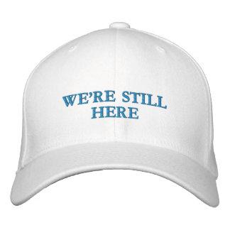 Seguimos siendo aquí - casquillo de las lanas de gorra de béisbol bordada