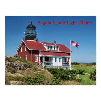 Seguin Island Light, Maine Postcard