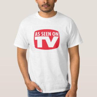 Según lo visto en la camisa divertida de la TV