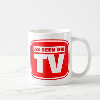 Según lo visto en la TV Taza De Café