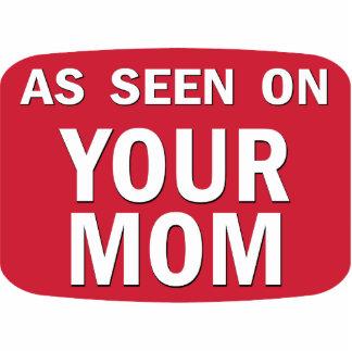 Según lo visto en su mamá pin fotoescultura