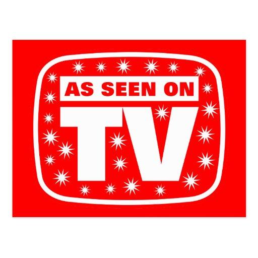 Según lo visto en TV - CH 2 con las estrellas de l Postales