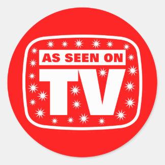 Según lo visto en TV - CH 2 con las estrellas de Pegatina Redonda