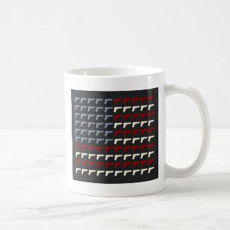 Segunda bandera de la enmienda taza de café