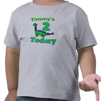 Segunda camisa del muchacho del cumpleaños del