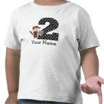Segunda camiseta del pirata del cumpleaños