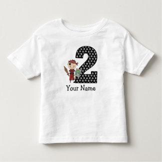 Segunda camiseta del pirata del cumpleaños camisas