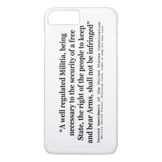 Segunda enmienda a la constitución de Estados Funda iPhone 7 Plus