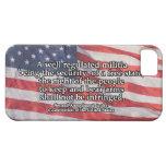 Segunda enmienda a la constitución de los E.E.U.U. iPhone 5 Case-Mate Cobertura