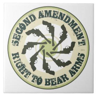 Segunda enmienda tejas  cerámicas